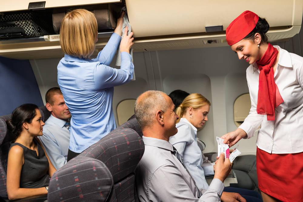 Derechos de los pasajeros de un avión