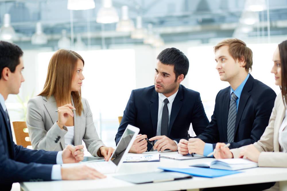 Una reunión de socios